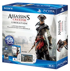 PlayStationVita Assassin's Creed III Liberation Bundle
