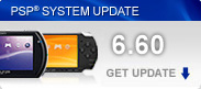 PSP&reg; System Software Update
