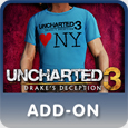 UNCHARTED 3: Drake's Deception NYC Sony Flagship Shirt 