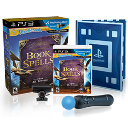 The Wonderbook™:Book of Spells Move Bundle